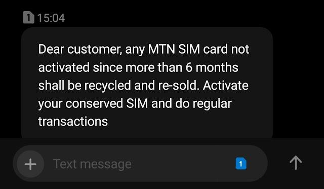 warning to MTN Cameroon CUSTOMERS