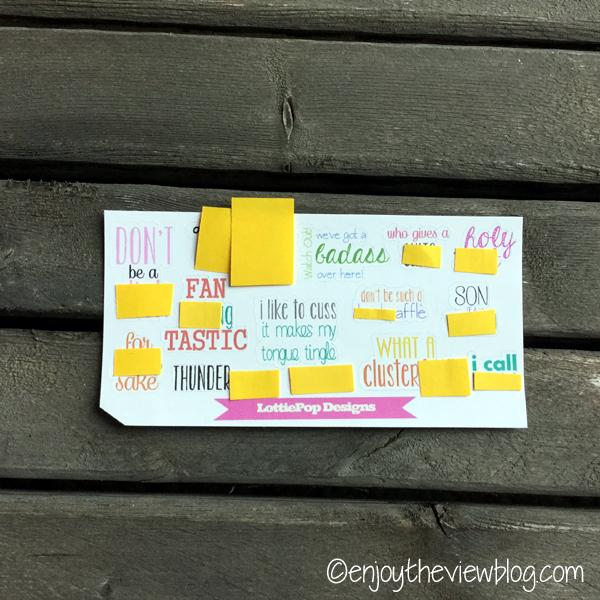 planner stickers from Lottie Pop Designs