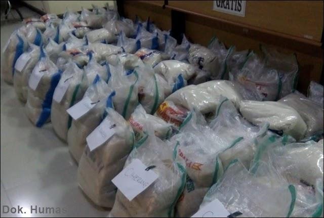Pemkab Ciamis Distribusikan Beras dan Telur untuk Dapur Umum Desa