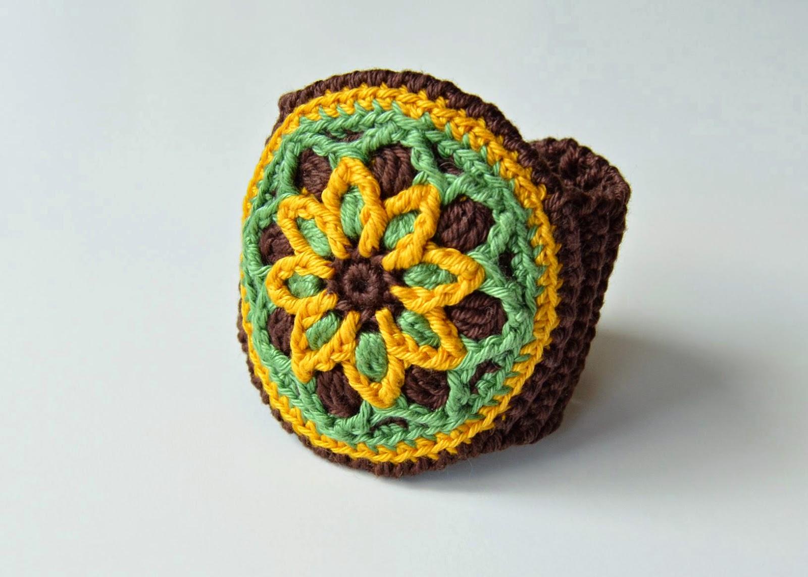 cuff crochet pattern