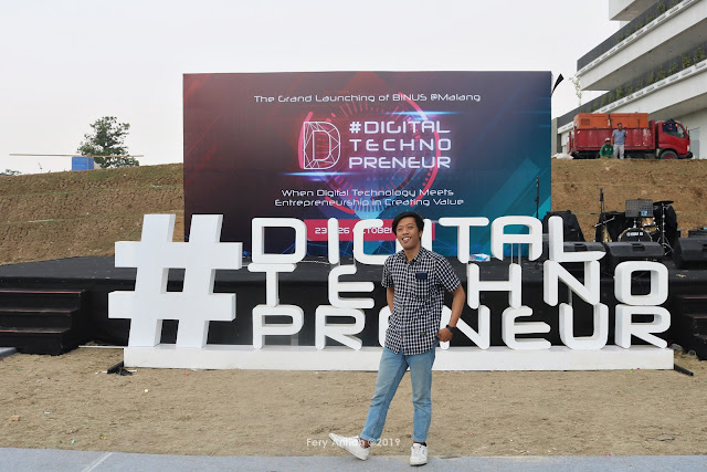 The Grand Launching of BINUS Malang: Digital Technopreneur Conference