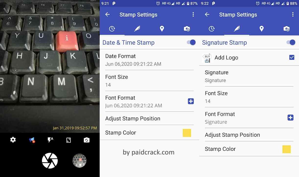 PhotoStamp Camera Pro Mod Apk 1.6.5