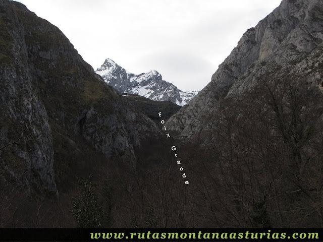 Camino a la Foix Grande
