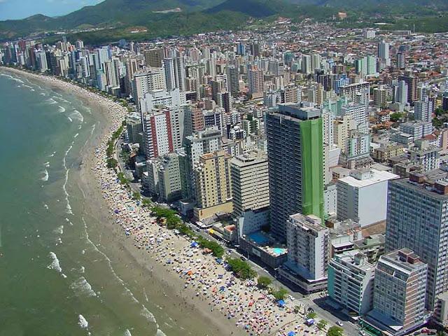 Imagem aérea de Balneário Camboriú