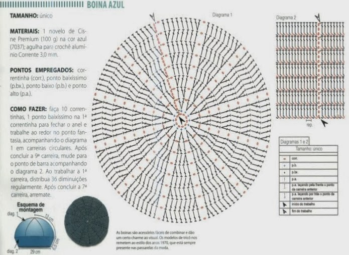 CROCHET-TEJIENDO ARTE : GORROS Y BOINAS TEJIDOS AL CROCHET-PATRONES ...