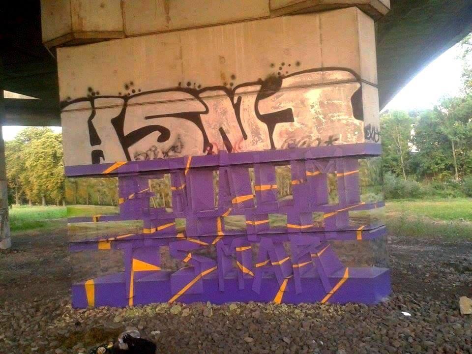 So Wurde Das Transparente Graffiti Von Milane Ramsi Hergestellt