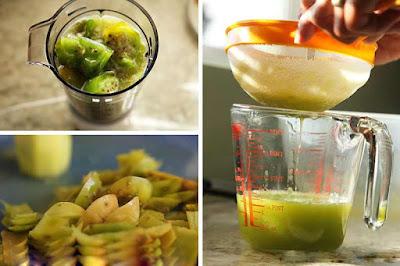طريقة عمل عصير التين الشوكي