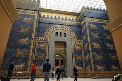 Puerta de Ishtar de Babilonia