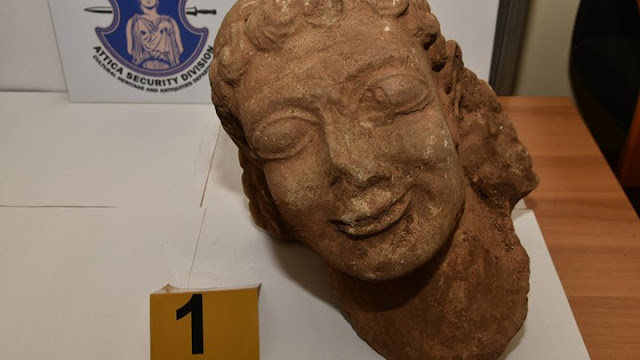 Αρχαιοκάπηλος προσπάθησε να πουλήσει κεφαλή Κούρου μοναδικής αρχαιολογικής αξίας (βίντεο)