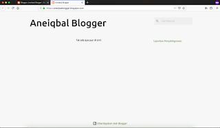 cara membuat blog gratis blogger