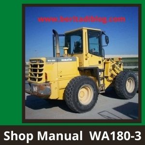 Wheel Loader shop manual wa180-3