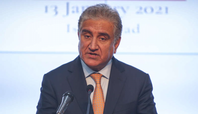 Qureshi discussed trade and investment with Nahyan