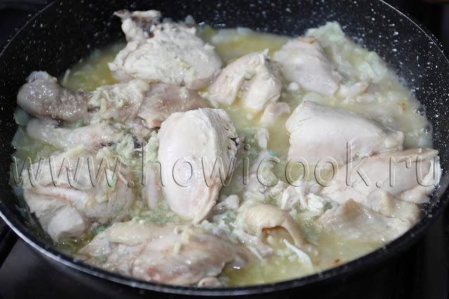 рецепт квту-дзырта цыпленка по-абазински с пошаговыми фото