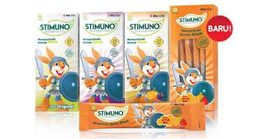 Stimuno Syrup Aman untuk anak 1 tahun keatas (balita)