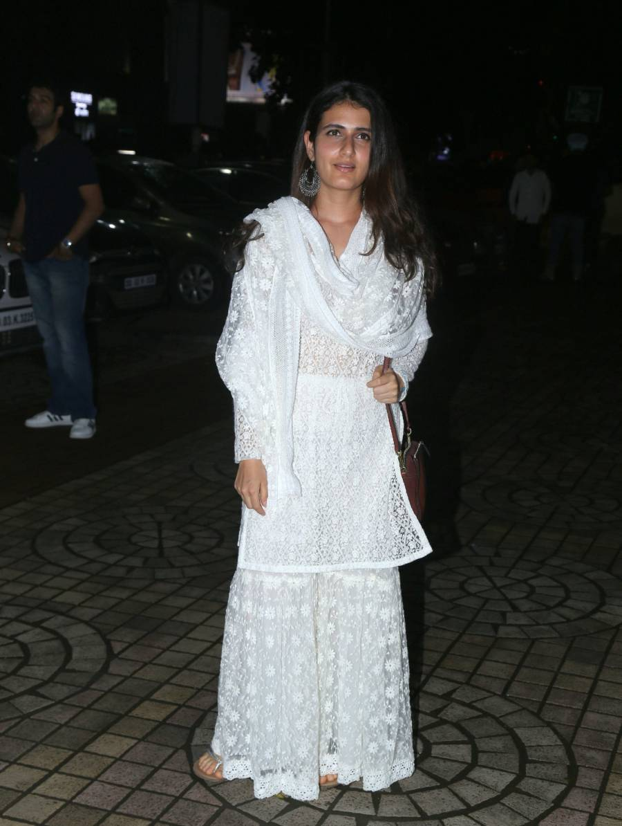 Indian Girl Fatima Sana Shaikh at Screening Of Film Dream Girl
