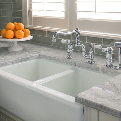 The beauty of super white granite countertops on Kitchen Farmhouse Granite Countertops  id=69089