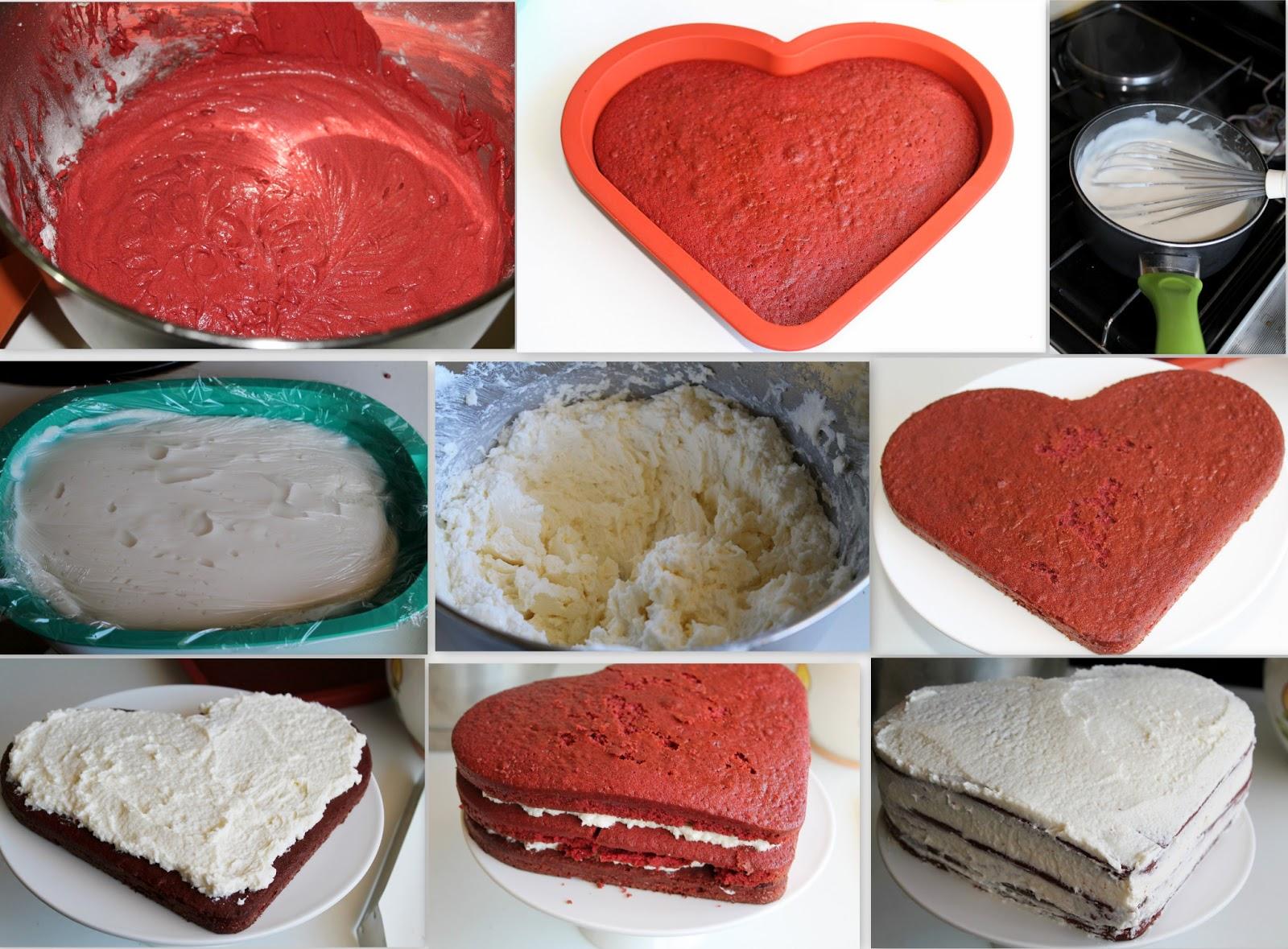 Romantic Red Velvet Cake Senza Glutine