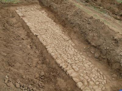 Δύο τμήματα της αρχαίας Εγνατίας Οδού ήρθαν στο φως στον Ίασμο Ροδόπης