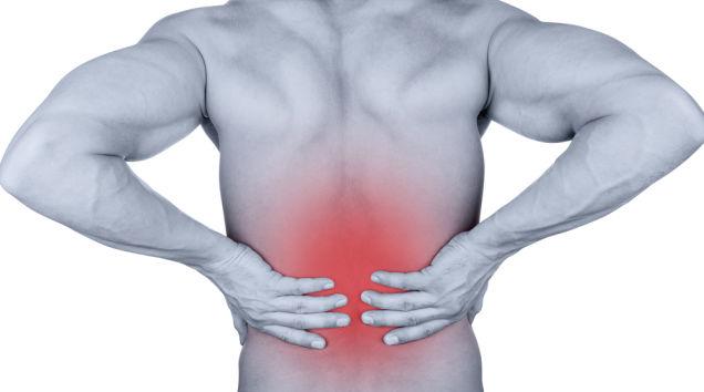 Los dolores la parte inferior del vientre la espalda