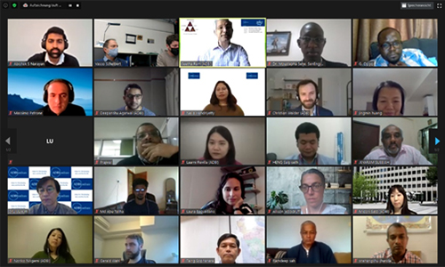 A Screenshot of the Participants in a Live Zoom Session on the CWIS Training Program