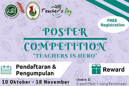Lomba Desain Poster Hari Guru Nasional 2018