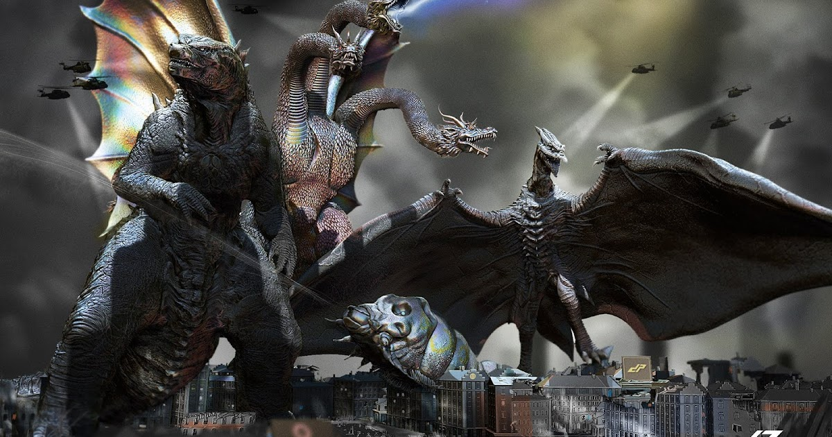 Godzilla 2: First Set Photos ... More Monsters?