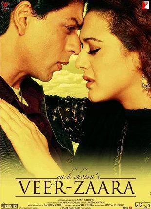 Veer-Zaara 2004 Full Hindi Movie Download BRRip 720p