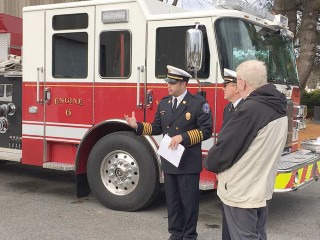 The Windham Eagle News: Windham's fire truck ceremony