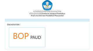 CARA PELAPORAN ONLINE BOP PAUD  MELALUI APLIKASI SIMDAK VERSI 1.0.0