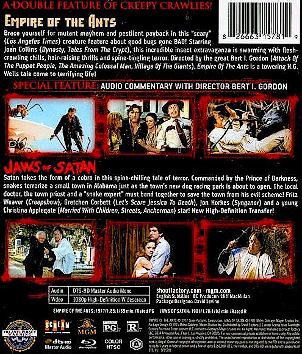 Blu-Ray And Dvd Covers Scream Factory Double Feature Blu -1507