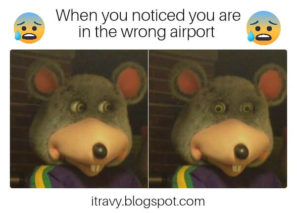 Getting to wrong airport on a city with 4 airports