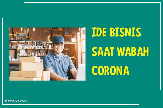 ide bisnis sampingan saat corona