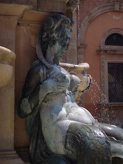 Breast Fountain Women Bologna Italy