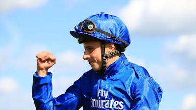 William Buik riding Lazuli at Doncaster