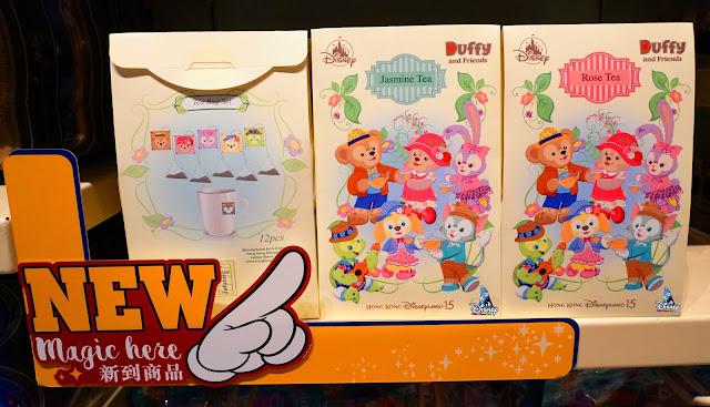 香港迪士尼 2021年「Duffy and Friends Sweet Sweet Friends」系列 茶包產品