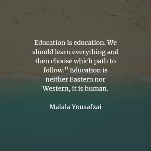 Importance of education quotes that'll motivate you