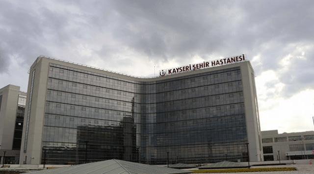 Kayseri Şehir Hastanesi konforuyla dikkat çekiyor.