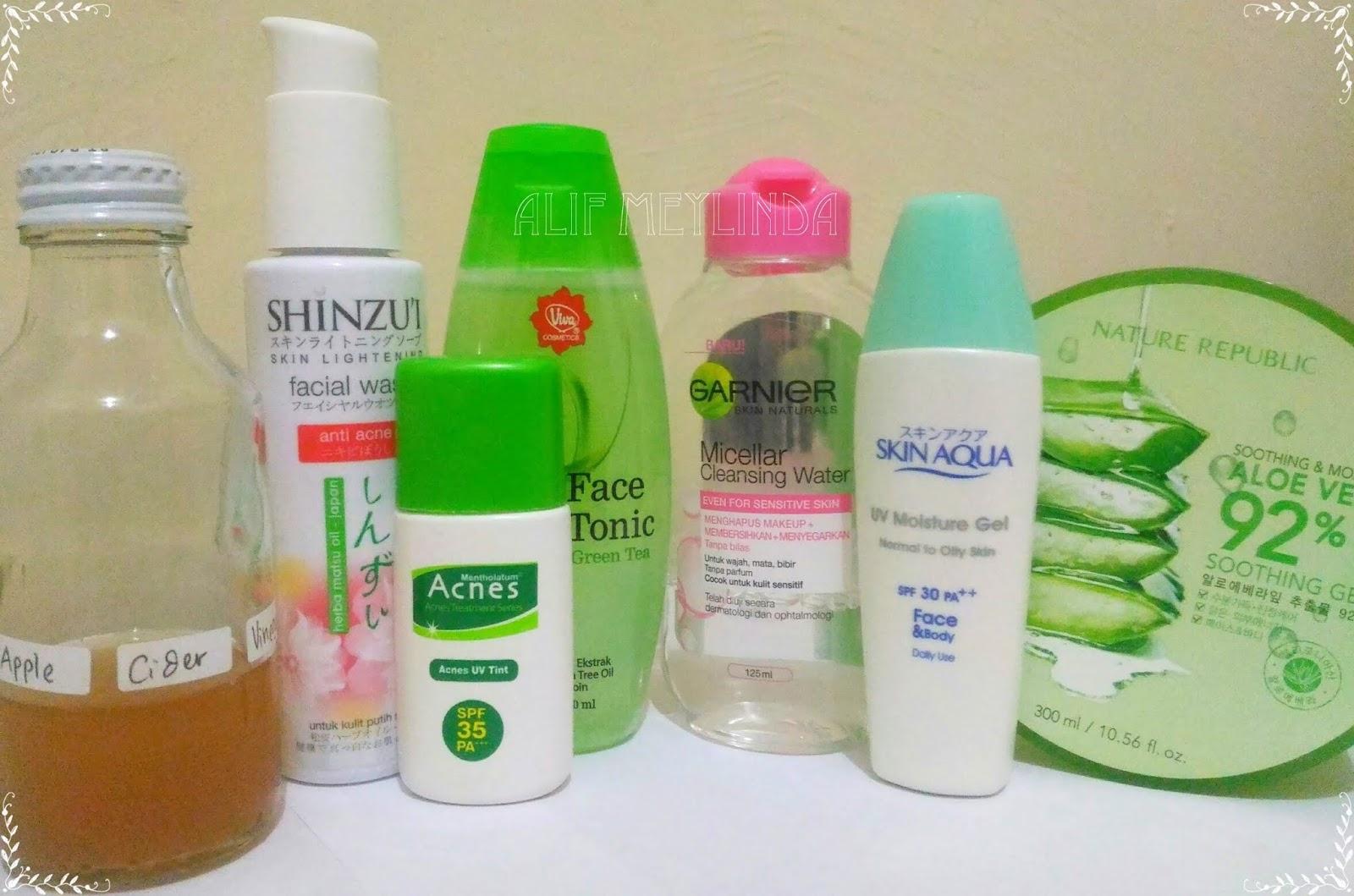 Skincare Routine Murah untuk Kulit Berminyak - Alif Meylinda