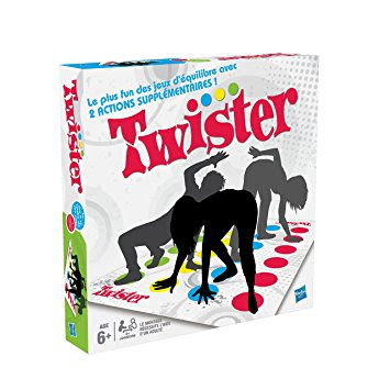 Aprender jugando programación Abril - Twister