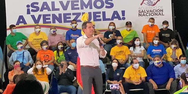 GUAIDÓ: «EL 5 DE JUNIO ARRANCA LA RUTA POR VENEZUELA»