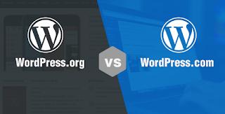 Penjelasan Singkat WordPress.com Dan WordPress.org Versi Dolan Ngenet