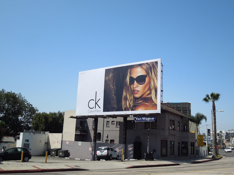 CK Calvin Klein sunglasses 2012 billboard