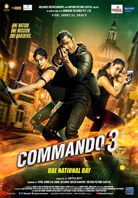 Commando 3 (2019) Hindi Full Movie Download 720P | Pre-DvDRip 1.2GB-Download