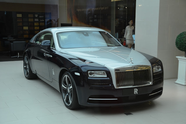 Siam Square Bangkok Rolls Royce