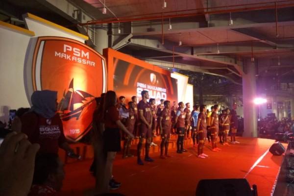Launching Skuat 2019, PSM Makassar Pamer Jersey dan Sponsor Baru!