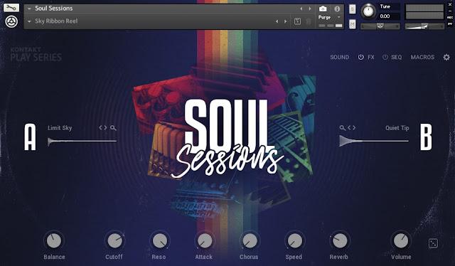 Interface da Library Native Instruments - Soul Sessions (KONTAKT)
