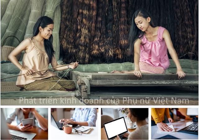 Bài viết Phát triển kinh doanh của Phụ nữ Việt Nam hiện nay