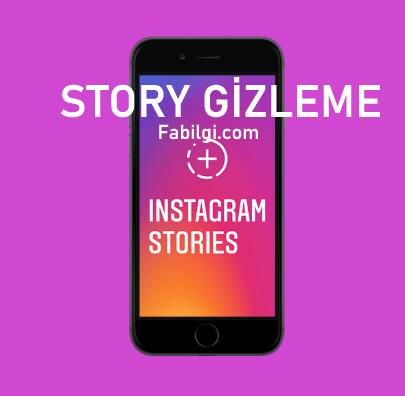 Instagram İstediğin Kişiye Hikayeleri Kapatma (Gizleme) Yapımı 2020