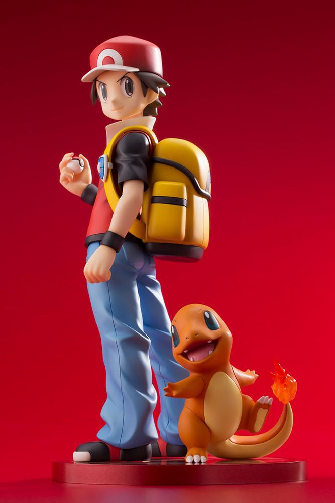 Figuras: Nuevo ARTFX J Red y Charmander de Pokemon - Kotobukiya