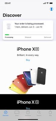 تنزيل Apple Store لنظام iPhone